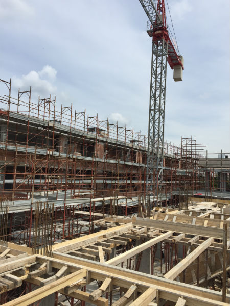 Cantiere in costruzione moretti case for Cantiere di costruzione